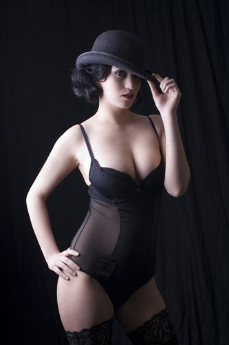 Burlesque Boudoir Photography